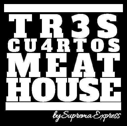 Logo Tres cuartos meat house