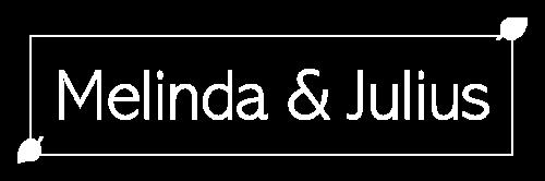 Logo Melinda & Julius