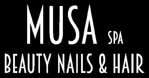 Logo Musa spa beauty nails and hair