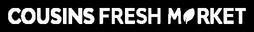 Logo Cousins Fresh Market