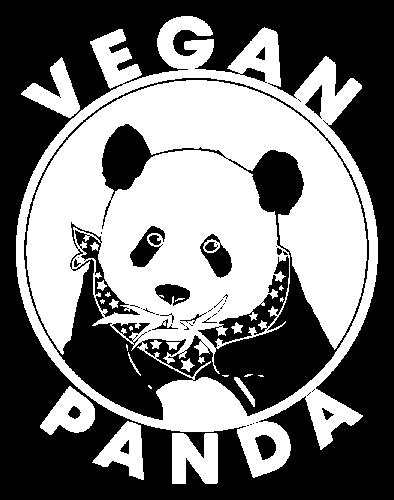 Logo Vegan panda